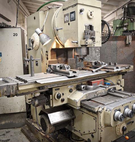 Výroba kovovej súčiastky pomocou vačkových automatov A40 a A50