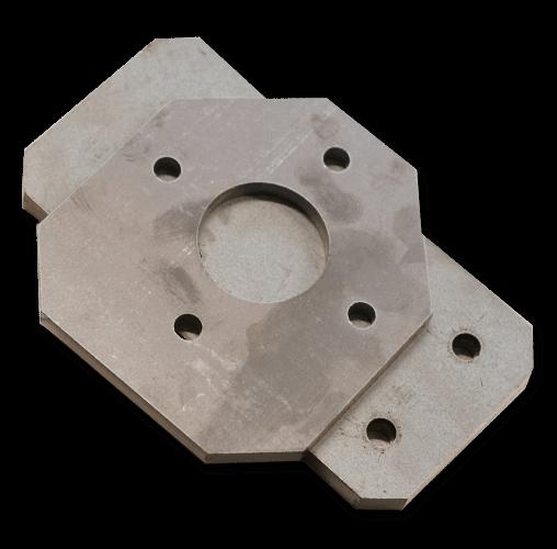 Súčiastka vyrobená z kovu pomocou cnc obrábania kovov