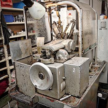 Vačkové automaty A40 a A50 na obrábanie kovov