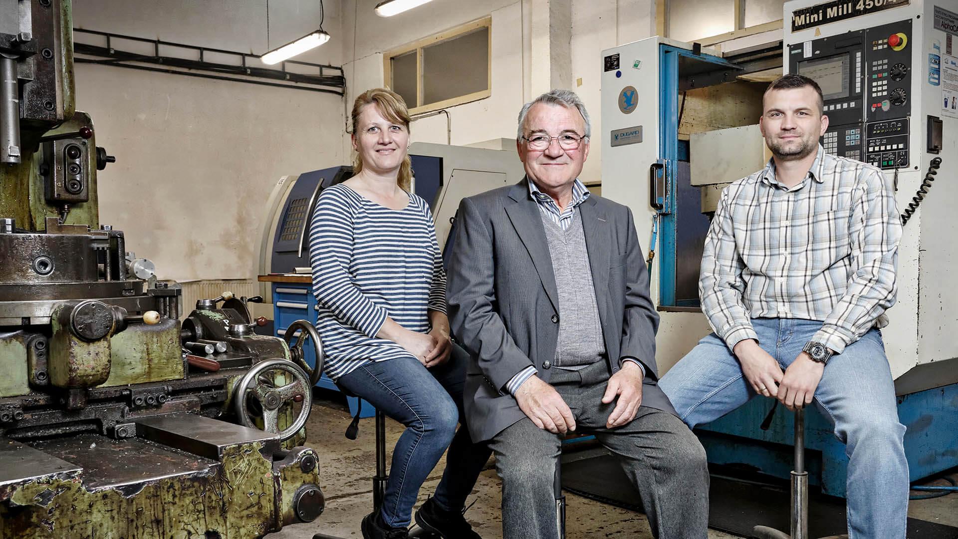 Firma na výrobu kovových súčiastok s rodinnou tradíciou.