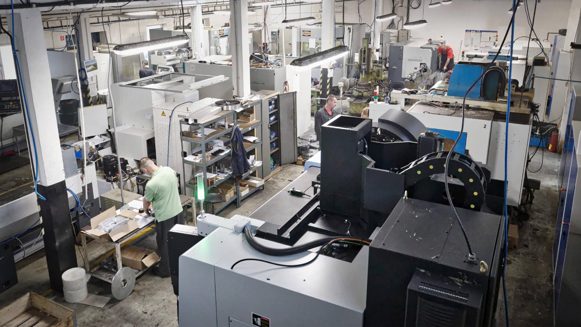 Výroba kovových súčiastok na klasických kovoobrábacích zariadeniach